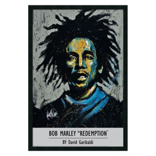Garibaldi   Bob Marley Framed Wall Art by David Garibaldi   25.41W x 37.41H in.   Framed Wall Art