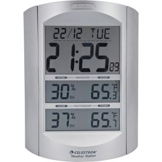 Celestron Large Format LCD Weather Station   Weather Stations
