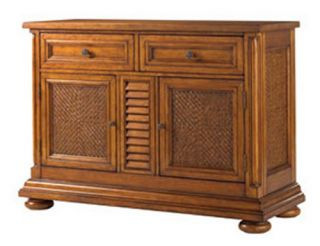 Tommy Bahama by Lexington Home Brands Island Estate Antigua Server   Dining Accent Furniture