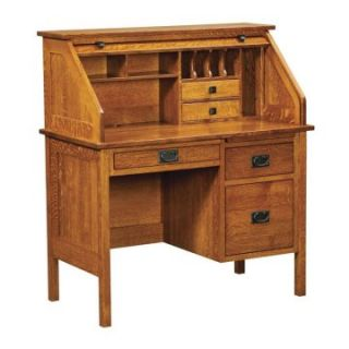 Chelsea Home Harvard 42 in. Rolltop Desk   Michaels Cherry   Writing Desks