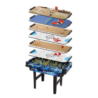 Voit 11 in 1 Family Fun Table Game Center   Foosball Tables