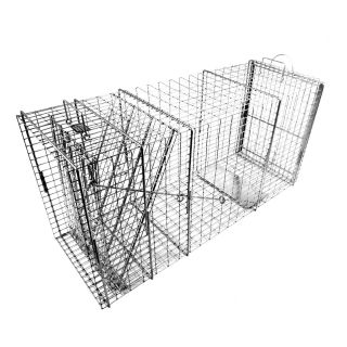 Tomahawk Original Series Rigid Trap with Easy Release Door for Bobcats and Foxes   Wildlife & Rodent Control