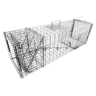 Tomahawk Original Series Rigid Trap with Easy Release Door for Large Raccoons and Woodchucks   Wildlife & Rodent Control
