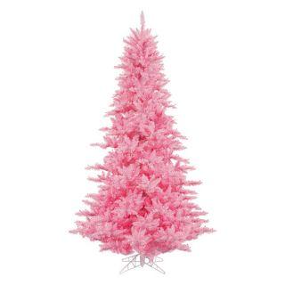 Vickerman Pink Fir Pre lit Christmas Tree   Christmas Trees