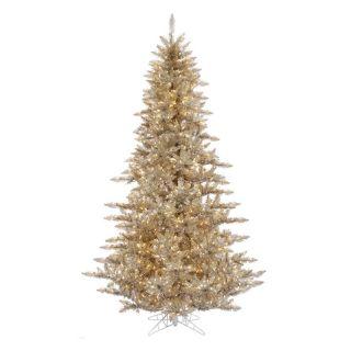Vickerman Champagne Fir Pre lit Christmas Tree   Christmas Trees