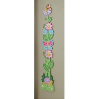 Teamson Design Magic Garden Growth Chart   Kids and Nursery Wall Art