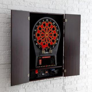 Arachnid Cricket Pro 750 Electronic Dart Board with Cabinet   Electronic Dart Boards