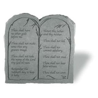 Ten Commandments Tablet   Garden & Memorial Stones