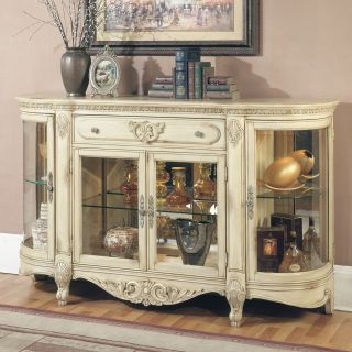 Parker House Manor Roxbury Display Credenza   Dining Accent Furniture
