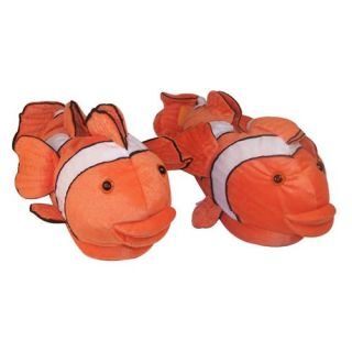 Comfy Feet Clown Fish Animal Feet Slippers   Mens Slippers