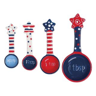 Boston Warehouse Flags Flying Measuring Spoon Set   Set of 4   Measuring Cups & Spoons