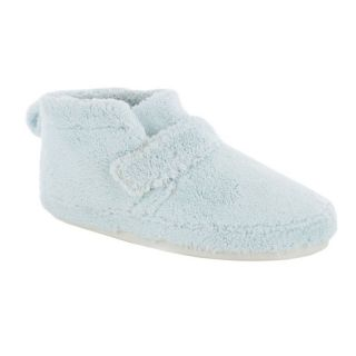 Adel Womens Bootie Slippers by Daniel Green   Blue   Womens Slippers