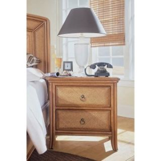 Antigua 2 Drawer Nightstand   Nightstands