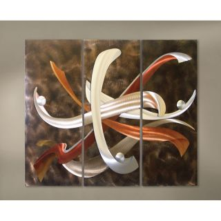 Nova Super Nova Metal Wall Art   54W x 42H in.   Wall Sculptures and Panels