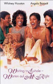 Waiting to Exhale   Warten auf Mr. Right [VHS]: Whitney Houston, Angela Bassett, Loretta Devine, Lela Rochon, Gregory Hines, Dennis Haysbert, Mykelti Williamson, Michael Beach, Wendell Pierce, Donald Faison, Kenneth Edmonds, Forest Whitaker, Ezra Swerdlow,