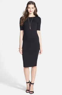Soprano Lucy Midi Length Body Con Dress (Juniors)