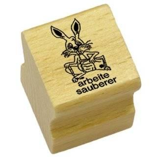 Elbi Lehrerstempel aus Holz Heftf�hrung unordentlich   K6/8 Bürobedarf & Schreibwaren