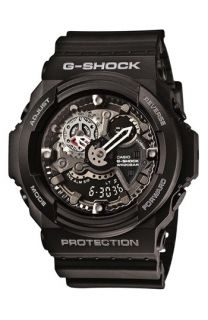 G Shock X Large Dual Movement Watch, 55mm x 52mm