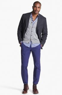 Kroon Wool Blend Sportcoat, Ted Baker London Cardigan & Bonobos Chinos