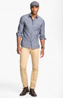 Wallin & Bros. Sport Shirt & Brooks Brothers Chinos