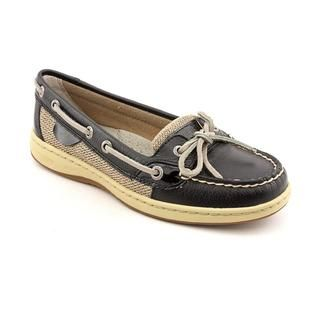 Sperry Top Sider Women's 'Angelfish' Black Leather Casual Shoes Sperry Top Sider Sneakers