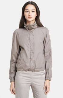 Kristen Blake Zip Front Shirttail Jacket