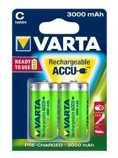 Varta Rechargeable Accu Ready2Use C Baby Ni Mh Akku: Elektronik