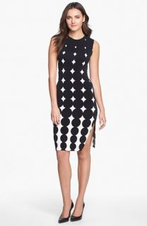 KAMALIKULTURE Print Side Drape Jersey Dress