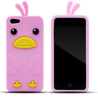 Zooky� rosa Huhn H�lle / Schutzh�lle / Cover f�r Apple Iphone 5 / 5s: Elektronik