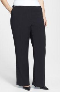 Anne Klein Stretch Flare Leg Pants (Plus Size)