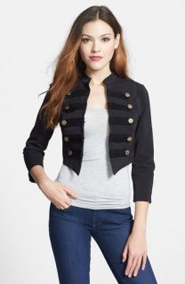 Nikki Rich Crop Military Jacket