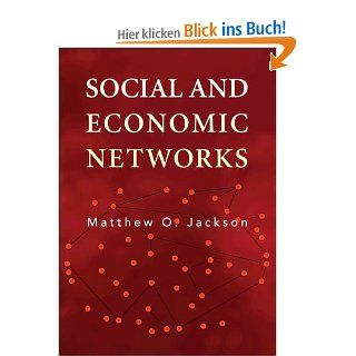 Social and Economic Networks: Matthew O. Jackson: Englische Bücher