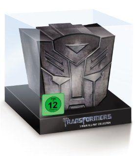 Transformers 1 3 Limited Autobot Collection Blu ray: Shia LaBeouf, Rosie Huntington Whiteley, Megan Fox, Tyrese Gibson, Michael Bay, John Malkovich: DVD & Blu ray
