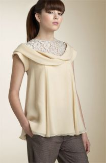 Nanette Lepore French Lace Cowl Top