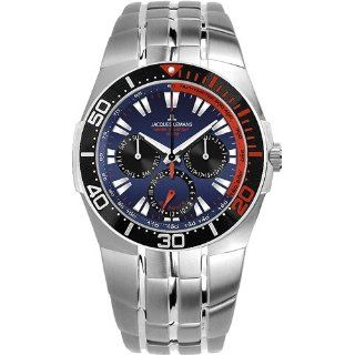 Jacques Lemans Herrenarmbanduhr Powerchrono 2008 1 1377 H: Uhren