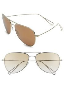 Isabel Marant par Oliver Peoples Matt 60mm Aviator Sunglasses