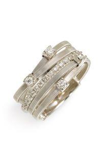 Marco Bicego Goa 5 Band Diamond Ring