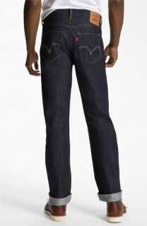 Levis 501® Straight Leg Jeans (Rigid Selvedge)