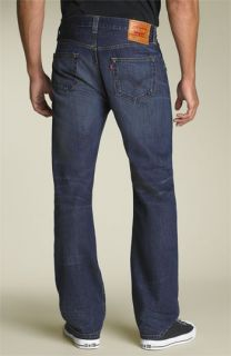 Levis® 501 Straight Leg Selvedge Jeans (Perfect Worn Wash)