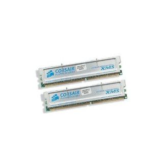 CORSAIR XMS 2GB (2 X 1GB) PC3200 400MHz 184 pin DDR Desktop Memory Kit   TWINX2048 3200C2PT: Electronics