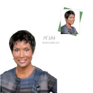 BEVERLY JOHNSON Human Hair Wig H184, FS1B/30 Beauty