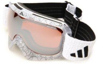 adidas Id2 Pro A184 50 6053 Shield Sunglasses,Black Frame/LST Bright & LST Active Silver Lens,One Size Adidas Goggles Clothing