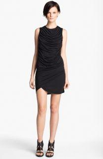 HELMUT Helmut Lang Kinetic Draped Jersey Dress