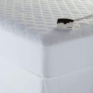 Cannon Heated Quilted Deluxe Mattress Pad   Queen Size   Electric Blankets