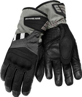 BMW Genuine Motorcycle Motorrad GS Dry, Ladies' glove   Color Black / Anthracite   Size EU 6 US 6 Automotive