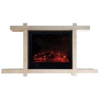 Yosemite Home Decor DF EFP184 Asian Zen Electric Fireplace,: Home Improvement