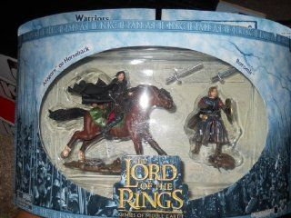 The Lord of the Rings Armies of Middle Earth Warriors and Battle Beasts The Fellowship No.2 with Aragorn on Horseback and Boromir: Toys & Games