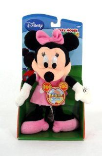 "Mickey Mouse Club House 8"" Plush Beanz Minnie Mouse Doll Toy: Toys & Games"