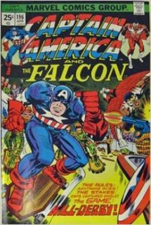 Captain America And The Falcon #196 (Kill Derby   POW!): Stan Lee, Jack Kirby, D. Bruce Berry: Books