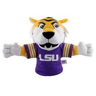 Bleacher Creatures LSU Tigers 'Mike the Tiger' Mascot Hand Puppet College Themed